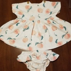 Jessica Simpson baby girl dress and bloomers